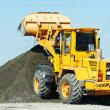 Heavy construction loader — Stock Photo