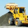 Heavy construction loader — Stock Photo