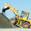 Heavy construction loader - Foto Stock