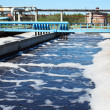 Water recycling on sewage treatment station — Stock Photo #6490016