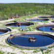 Water recycling on sewage treatment station — Stock Photo #6490029