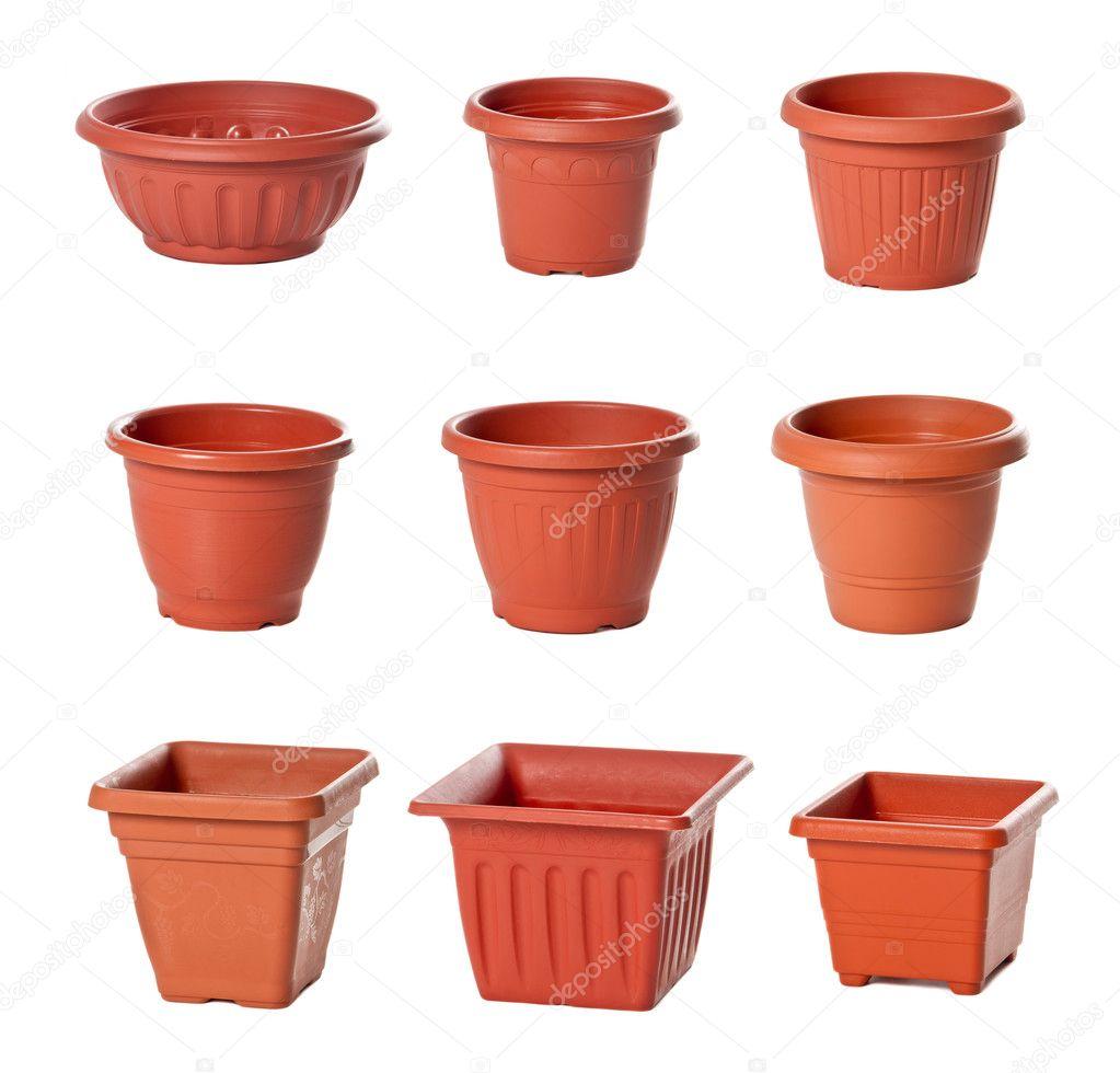Upps ttning av plast blomkrukor f r krukv xter - Plantas de plastico ikea ...
