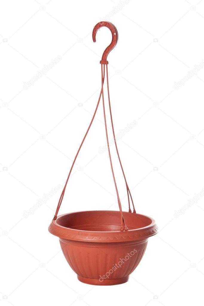 Suspension pot de fleurs plastique pour plantes - Suspension pour plante exterieur ...