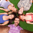 Young Lying on the Ground — Stock Photo