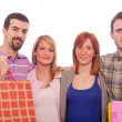 Young with Shopping Bags — Stock Photo