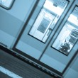 Subway Train, Motion Blur Effect — Stock Photo