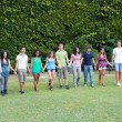 Group of Teenagers at Park — Stock Photo #6066994