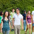 Group of Teenagers at Park — Stock Photo #6067054
