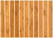 Collection of wood planks textures — Stock Photo