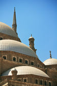 Cupolas of Alabaster Mosque — Stock Photo