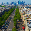Paris Boulevards — Stock Photo