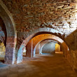 Vaulted Dungeon — Stock Photo