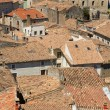 Roofs of Viviers — Stock Photo