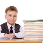 Kid studying — Stock Photo #5479971