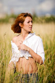 Relaxed woman — Stock Photo