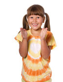 Laughing girl — Stock Photo