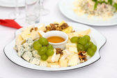 Cheese plateCheese plate — Stock Photo