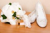 Bridal accessories — Stock Photo