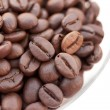 Coffee closeup — Stock Photo