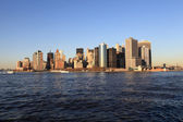 Landscape of Manhattan — Stock Photo
