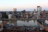 Landscape of Pittsburgh — Foto de Stock