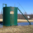 Oil tank — Stock Photo