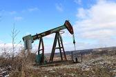 Oil Pumping Unit — Stock Photo