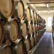 Tuns in winery - Stock Photo