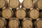 Barrels of brandy — Stock Photo