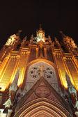 Işıklı katedrali — Stok fotoğraf
