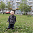 Stock Photo: Little boy outdoor