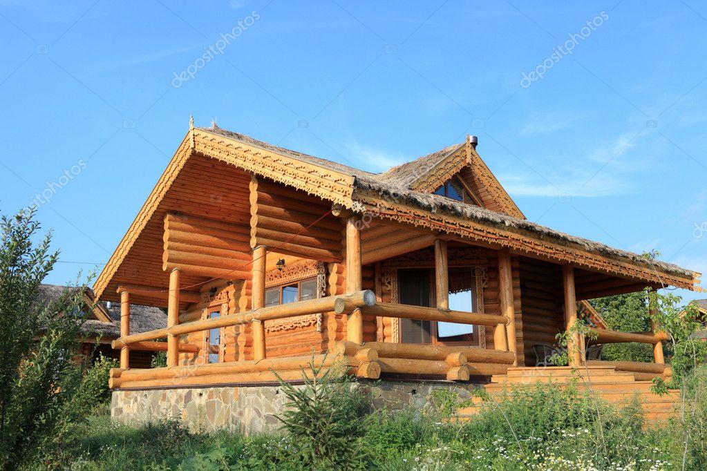 木制小屋 - 图库图片