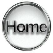 Home icon grey — Stock Photo
