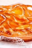 Baked apricot pie — Стоковое фото