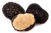 Black truffles — Stock Photo