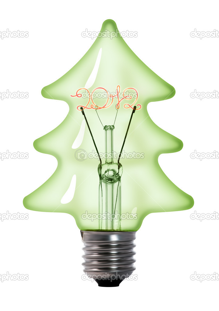 christmas tree light bulb stock photo nrey ad 6408321. Black Bedroom Furniture Sets. Home Design Ideas