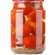 Preserves. Pickled tomato in glass — Stock Photo #5793091