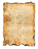 Vintage burnt paper background — Stock Photo