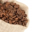 Royalty-Free Stock Photo: Coffee Beans in a Bag