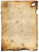 Vintage burnt paper background — Stock Photo