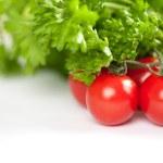 トマトのクローズ アップ写真 — ストック写真
