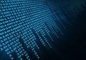 Binární kód — Stock fotografie