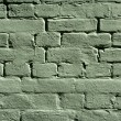 Green brick wall texture — Stock Photo #5419006