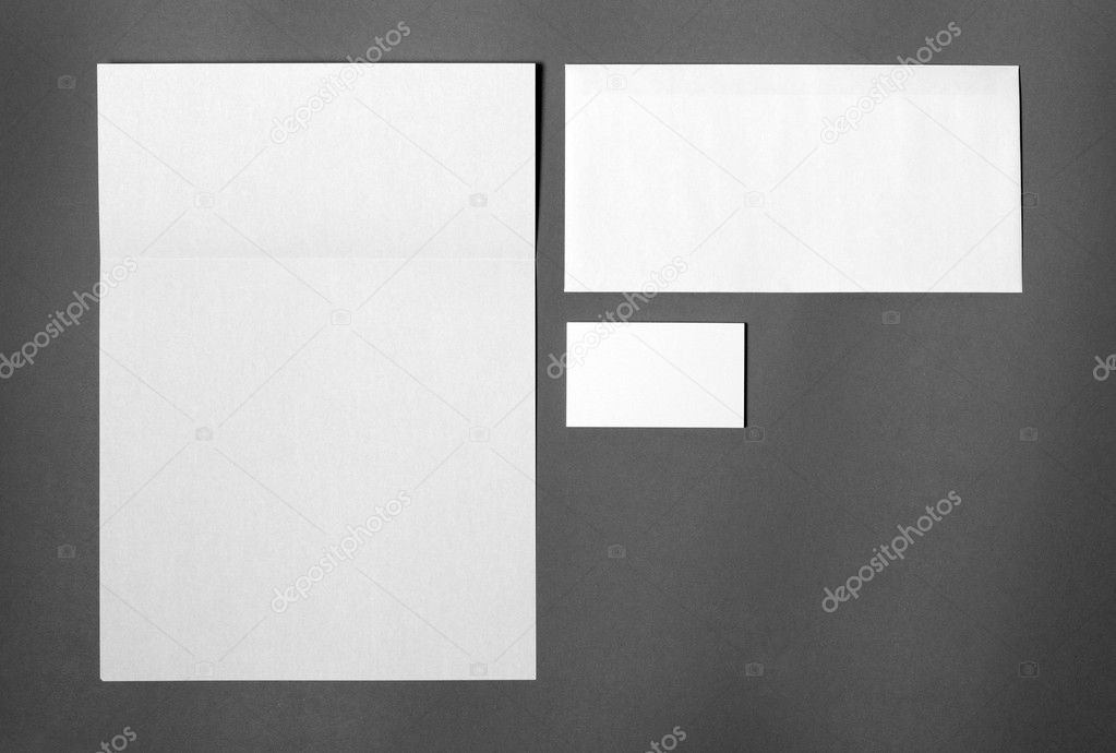 Template for corporate identity — Stock Photo #6514803