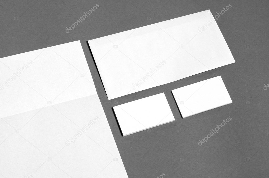 Set of corporate identity templates — Stock Photo #6601898