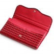 Red Open Change Purse — Stock Photo #5624566