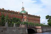 Engineering Castle In St. Petersburg — Stock Photo