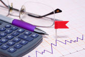 Profit Calculation — Stock Photo