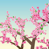 Spring background 1 — Stock Vector