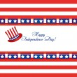 Royalty-Free Stock Vector Image: Independence day card